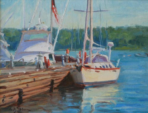 Door County Sailboat