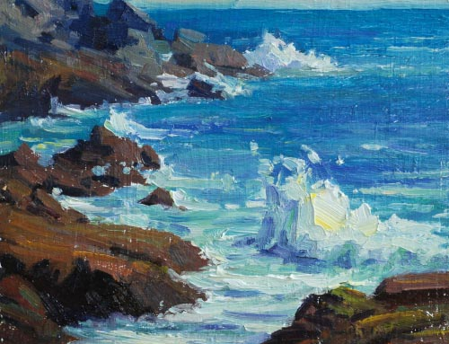 Monhegan Rock and Surf