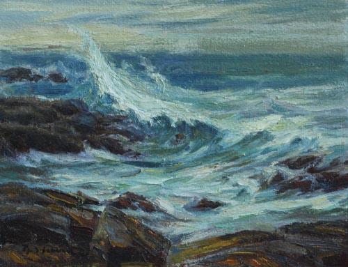 Treacherous Sea Monhegan
