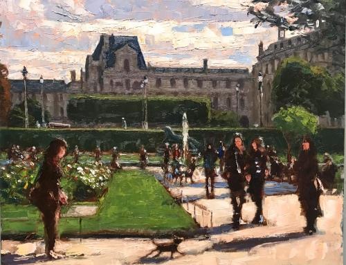 Chien de Tuileries
