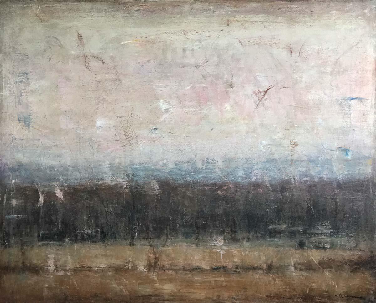 Distant Woods In Winter Brett Weaver Studio