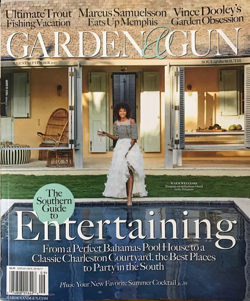 Charming Featured In Garden And Gun Magazine!