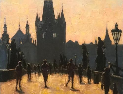 Morning Jog in Prague