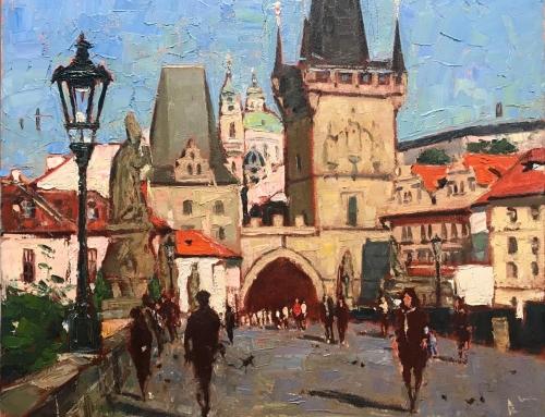Morning Walk in Prague