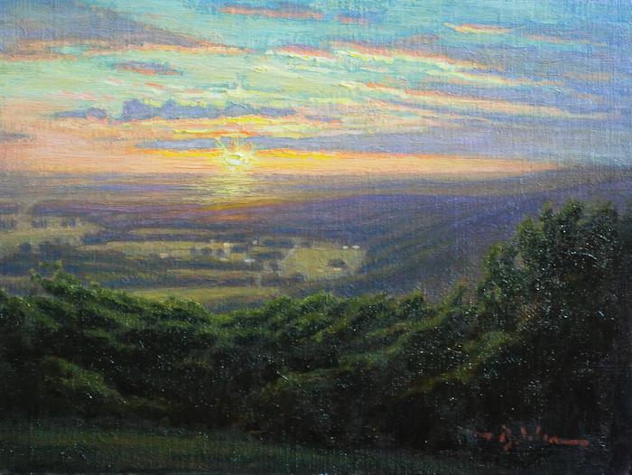 Sunset From The Cross – Sewanee